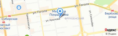 Даниэлла на карте Новосибирска