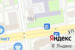 Схема проезда до компании Подорожник в Новосибирске