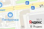 Схема проезда до компании Центрнефтекарт в Новосибирске