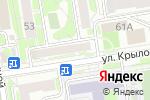 Схема проезда до компании Дом Китайского Языка в Новосибирске