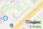 Схема проезда до компании Приданое в Новосибирске