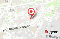 Схема проезда до компании Промтекс-К в Новосибирске