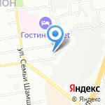 А4 на карте Новосибирска