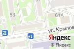 Схема проезда до компании ZEFIR RELAX в Новосибирске
