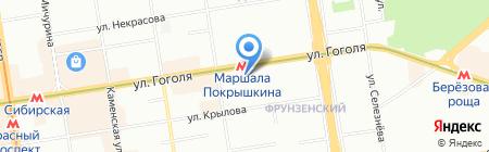 Банкомат ФКБ ЮНИАСТРУМ БАНК на карте Новосибирска