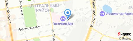 Partsnsk.ru на карте Новосибирска
