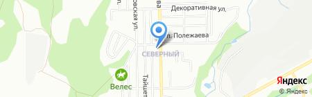 Маяк на карте Новосибирска