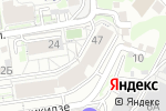 Схема проезда до компании Moon beauty в Новосибирске