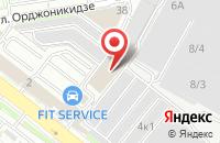 Схема проезда до компании Бараба в Новосибирске