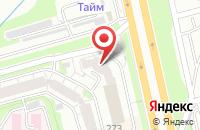 Схема проезда до компании Резиденция в Новосибирске