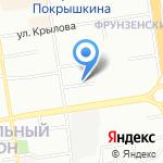 Персонель на карте Новосибирска