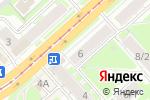 Схема проезда до компании АФИНА ПАЛЛАДА в Новосибирске