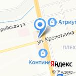 ИВЕРТа на карте Новосибирска