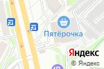 Схема проезда до компании Игрушкино в Новосибирске