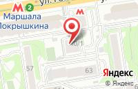 Схема проезда до компании Инженерный Центр  в Новосибирске
