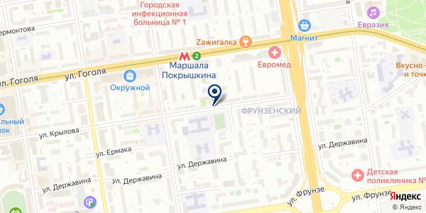 ЖЭУ-35 на карте Новосибирске