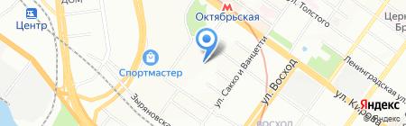 Бизнес-советник на карте Новосибирска