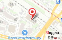 Схема проезда до компании Рио в Новосибирске