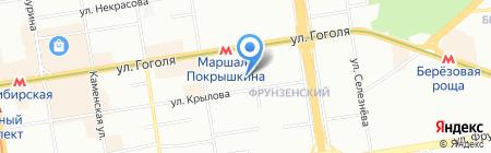 Matras-novosibirsk.ru на карте Новосибирска