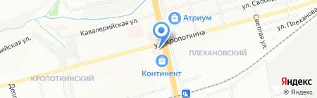 ФотоЛавка на карте Новосибирска
