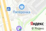 Схема проезда до компании ЛУЧ-3 в Новосибирске
