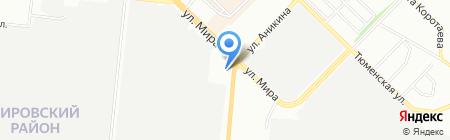 Алина на карте Новосибирска
