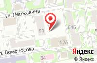 Схема проезда до компании Оникс в Новосибирске