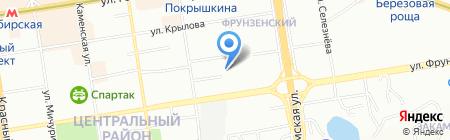 Банкомат АЛЬФА-БАНК на карте Новосибирска