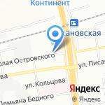 Армавеон на карте Новосибирска