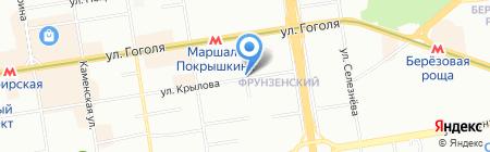 JEAN DE VILLE на карте Новосибирска