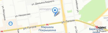 CARAMELL на карте Новосибирска