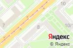 Схема проезда до компании Lovely в Новосибирске