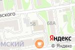 Схема проезда до компании СибЭлКом в Новосибирске