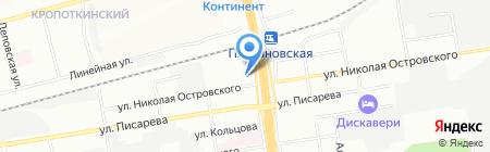 Эльба мебель на карте Новосибирска