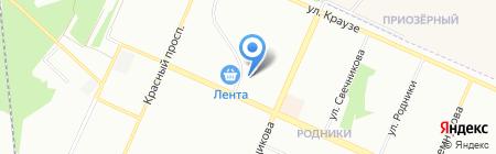 АураТур на карте Новосибирска