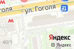 Схема проезда до компании Адолиск в Новосибирске