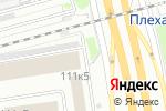 Схема проезда до компании Йонгсан-Авто в Новосибирске