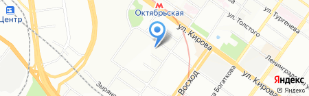 Сочи на карте Новосибирска