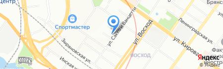 Макси плюс на карте Новосибирска