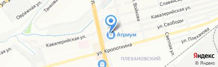 Евросеть на карте Новосибирска