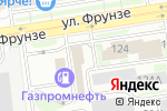Схема проезда до компании Святовит в Новосибирске
