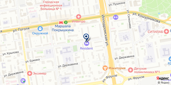 SARTO на карте Новосибирске