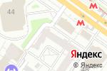 Схема проезда до компании Сибавтобан в Новосибирске