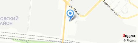 А-СТИ на карте Новосибирска
