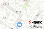 Схема проезда до компании Тани Вани в Новосибирске