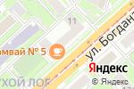 Схема проезда до компании Ново-Николаевск в Новосибирске
