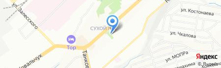 Олегатор на карте Новосибирска