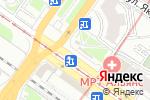 Схема проезда до компании Станция кофе в Новосибирске