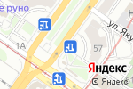Схема проезда до компании Продуктовый магазин в Новосибирске