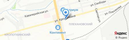 Социальная аптека на карте Новосибирска